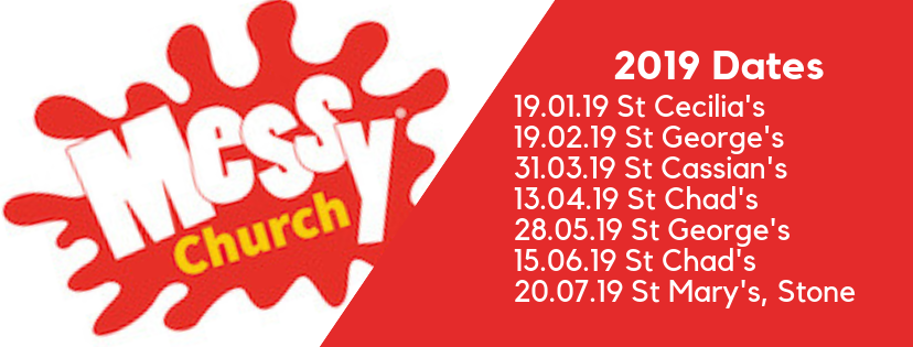 Messy Church events 2019