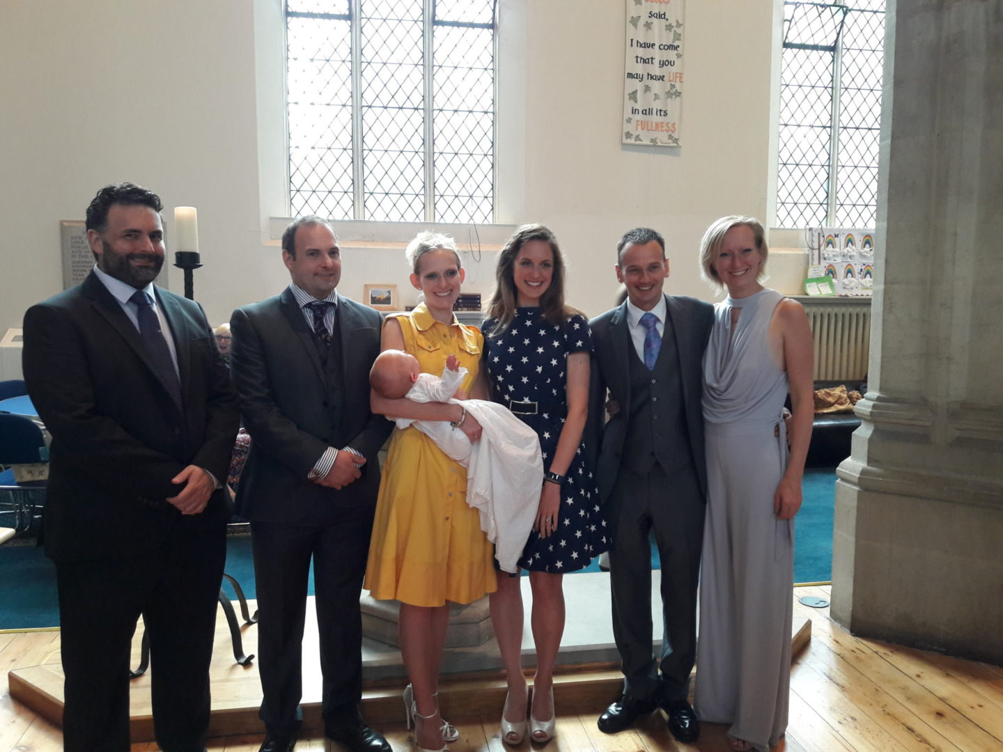Christening at St George's