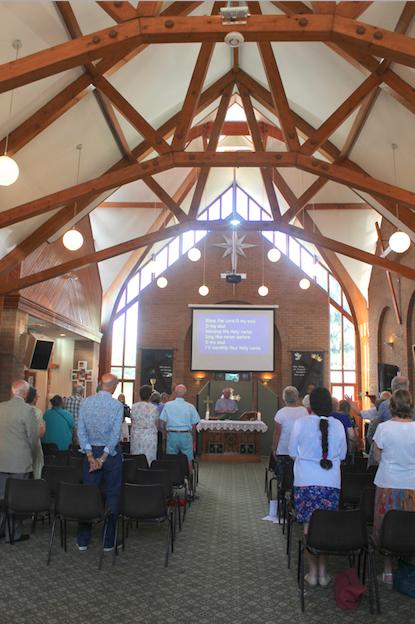 Service at St Cecilia's