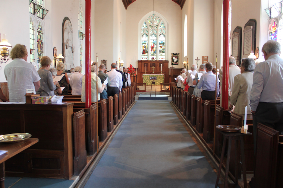 Weekly service at St Mary's