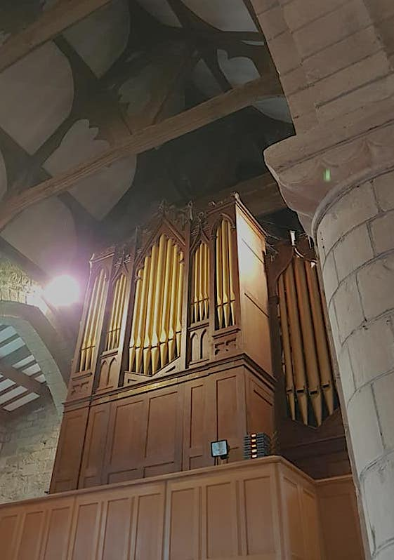 Organ at St Cassian's