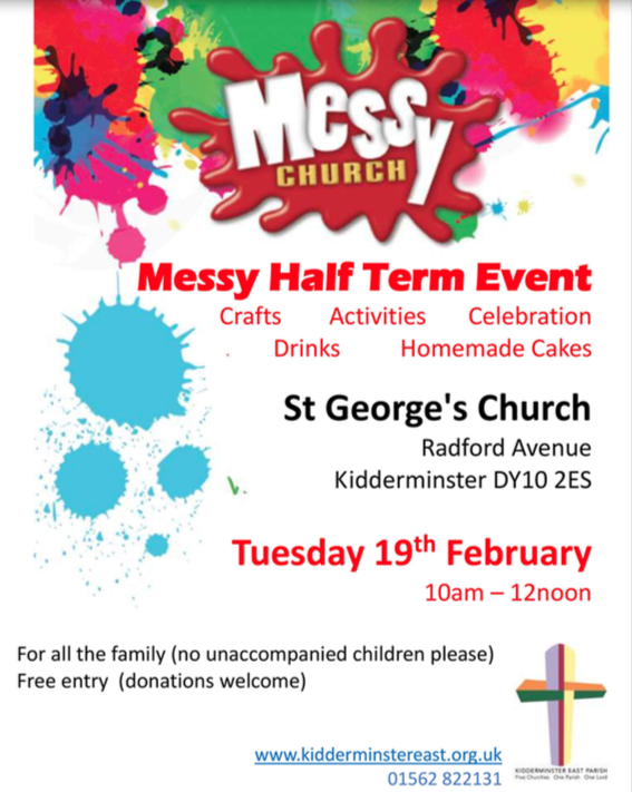 Messy Church Events