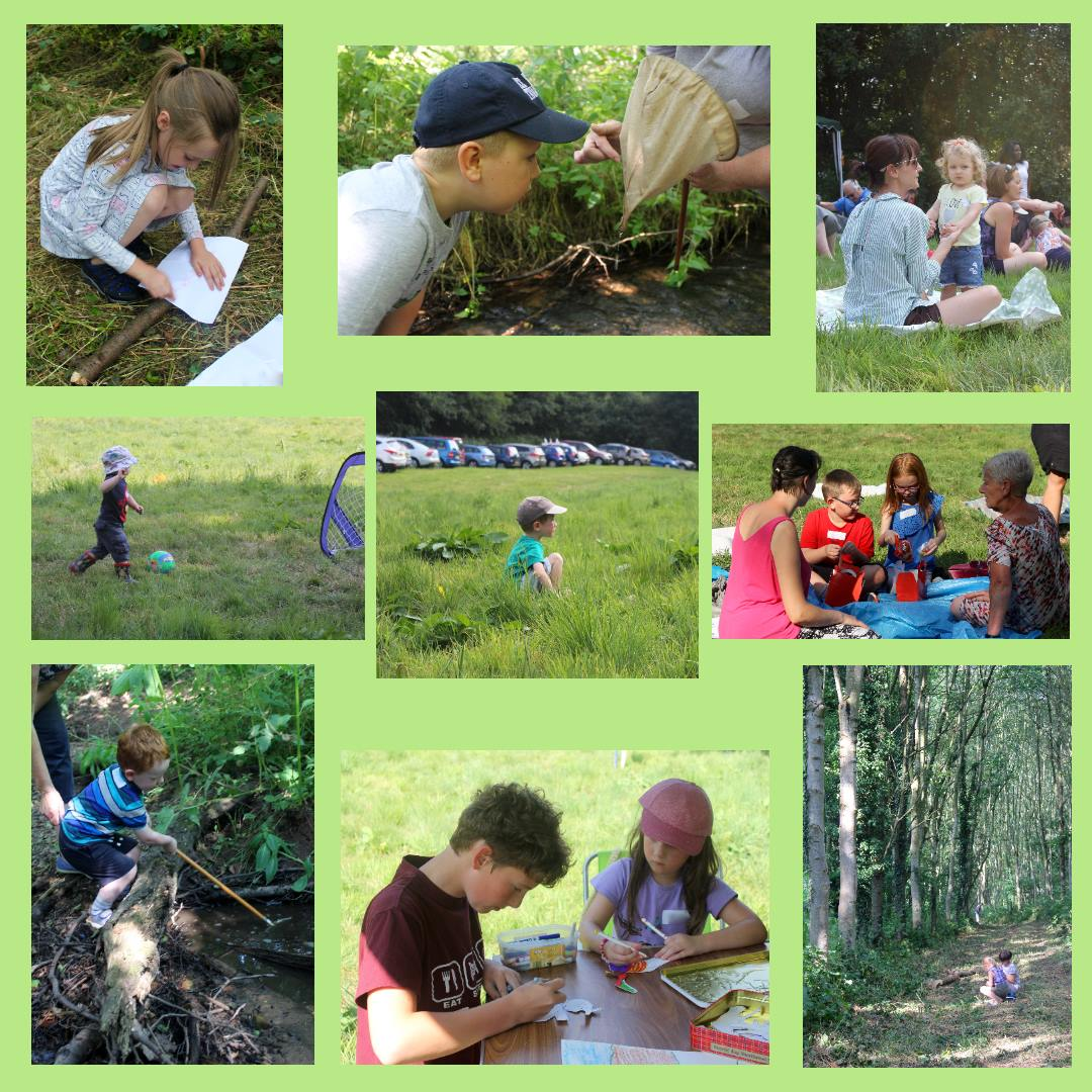 Messy Church in the woods