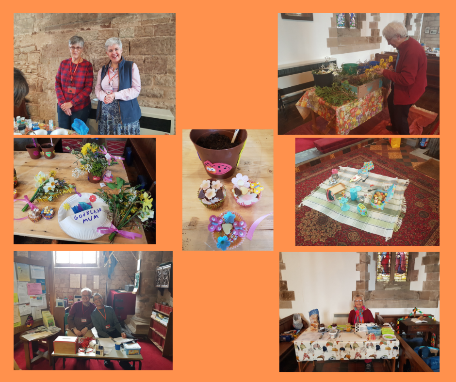 Mothering Sunday Messy Church event