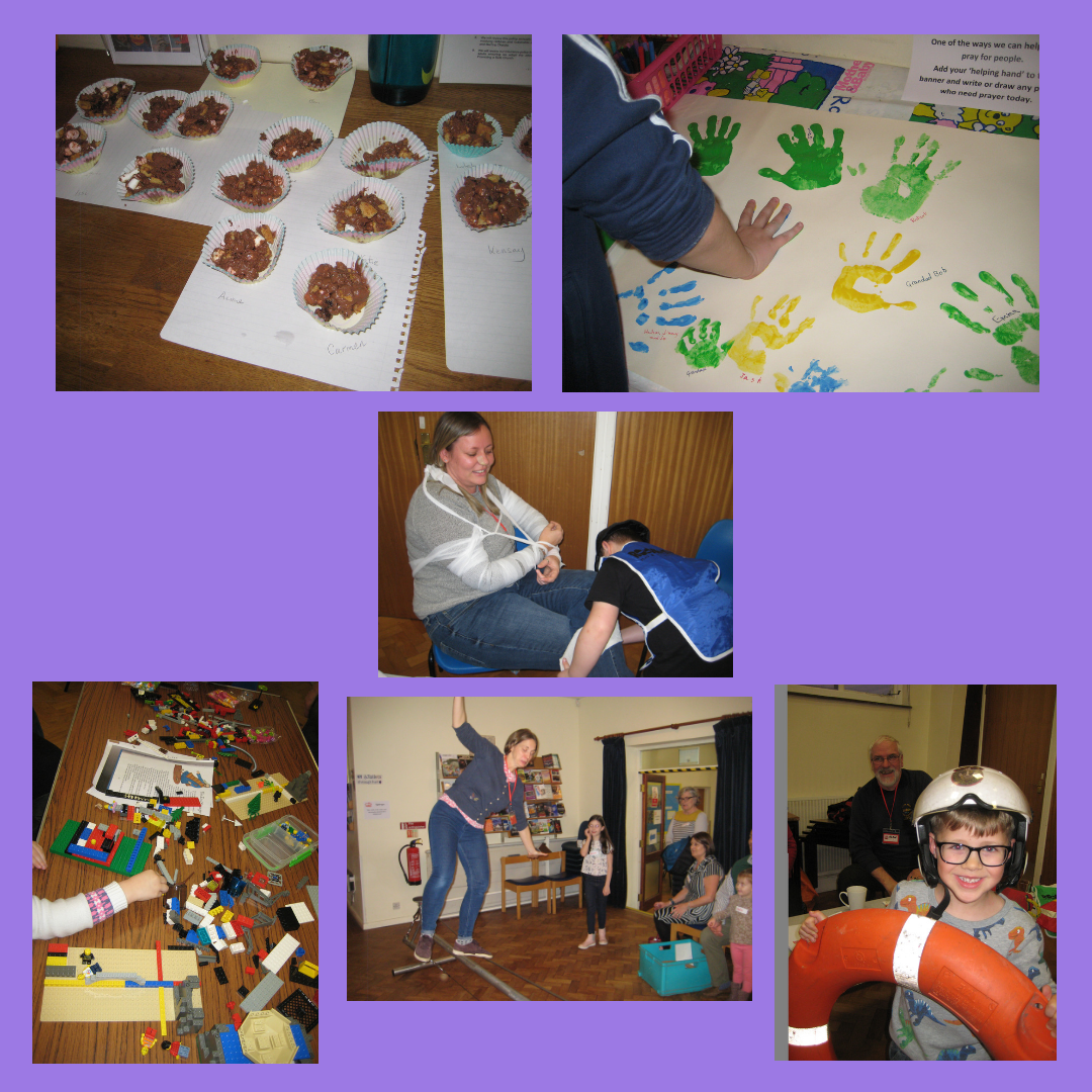 Previous Messy Church event