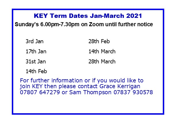 Kidderminster East Youth term dates
